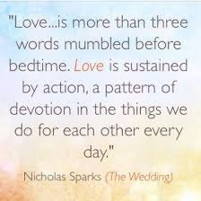 wedding quotes nicholas sparks nicholas sparks quote from the wedding quotes
