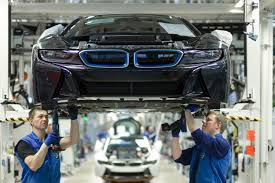 production process of bmw i8