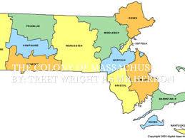 Suffolk County Massachusetts Maps And Massachusetts Colony By Treet Wright
