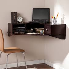 hidden home office furniture floating desks wall mounted home design ideas intended for wall