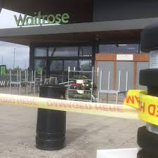 Waitrose Halloween Cake by Waitrose Supermarket Closed After Thieves Steal Entire Atm Machine