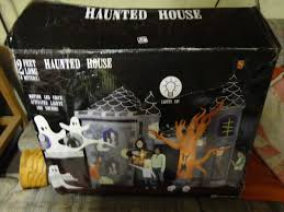 new gemmy 12 foot airblown inflatable halloween haunted house