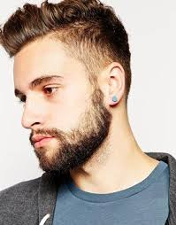 mens ear piercings 23 best piercings images on piercing ideas beards and