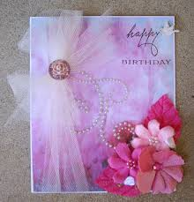 creating with paper and bows easy birthday card