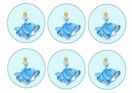 cinderella cupcake toppers cinderella cupcake toppers birthday printable
