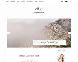 free blogger template vibe personal blogger template fully