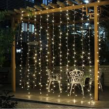 led christmas string lights outdoor 3m x 3m 300 led icicle string lights christmas xmas fairy lights