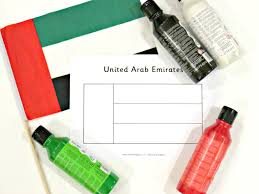 Colors Of Uae Flag Uae Flag Day Crafts And Activities For Toddlers And Pre Schoolers