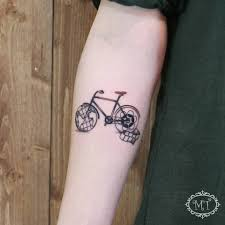 42 truly inspiring bicycle tattoo ideas for those with riding passion