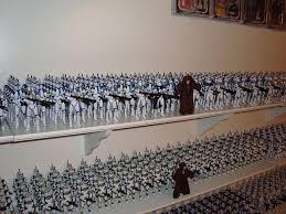 clone trooper wall display armor my clone armies and other