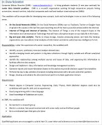 Physics Resume Sample Data Scientist Resume 7 Examples In Word Pdf