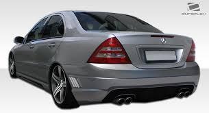 mercedes c240 2007 duraflex 108298 2001 2007 mercedes c class 4dr sedan w203