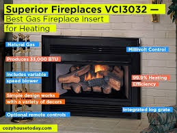 Superior Fireplace Manufacturer by Best Gas Fireplace Insert May 2017 Buying Guide