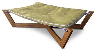 bambu cross hammock i modern dog beds by pet lounge studios