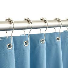 Teal Ruffle Shower Curtain by Long Shower Hooks Shower Curtains X Long Gustitosmios Bathroom