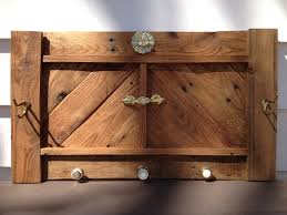 coat rack made from recycled pallet wood