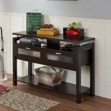 Sofa Table With Stools Console Tables Entryway Tables Hayneedle