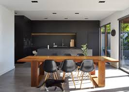 minimal design blog black kitchen island minimalist house and