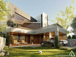 Architectural Design Of 1 Kanal House 1 Kanal House 450 Sqm House Contemporary House Architecture Design
