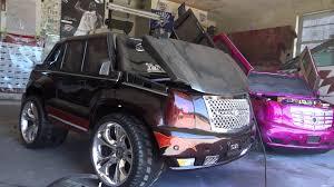 cadillac escalade modified modified lambo doors power wheels custom escalades can