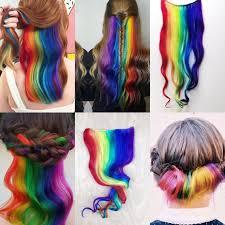 blue hair extensions custom lights clip in hair extensions mermaid hair
