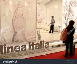 Home Design And Decoration Milan April 15 People Looking Home Stock Photo 73409410 Shutterstock