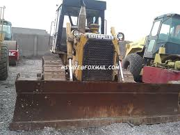 d6d track caterpillar bulldozer for sale d6d with winch