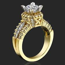 Crown Wedding Rings by Queen U0027s Crown Mid Split Shank Diamond Engagement Ring U2013 Bbr192