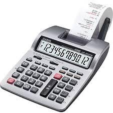 calculatrice graphique bureau en gros casio calculatrice commerciale imprimante hr 100tm staples