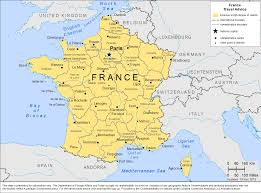 France Germany Map by Smartraveller Gov Au France