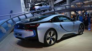 bmw supercar blue production ready bmw i8 officially revealed