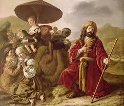Seeking Painting Jacob Seeking Forgiveness Of Esau Painting By Jan Victoors