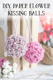 flower balls paper flower tutorial diy wedding paper flower