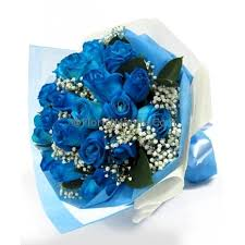 blue roses delivery send 12 blue roses in bouquet to manila delivery blue roses to