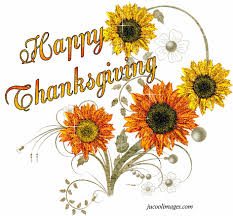 happy thanksgiving beautiful glitter flower picture