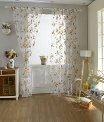Lisette Sheer Panels by Jcpenney Home Lisette Curtain Panel Sheer Yuma Rose Rod Pocket