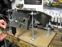 corvette headlight conversion c3 corvette electric headlight motor prototype