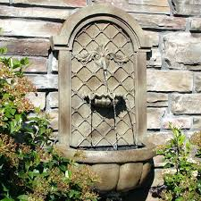 outdoor wall decor diy wall ideas large outdoor wall water fountains outdoor wall