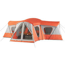 ozark trail 14 person 4 room base camp tent walmart com