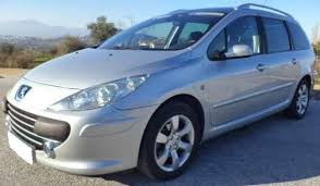 peugeot estate cars for sale 2008 peugeot 307 sw 1 6 hdi 7 seater estate cars for sale in spain