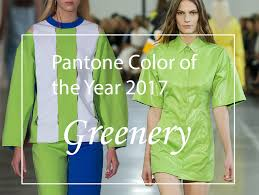 color of the year 2017 fashion greenery is the 2017 pantone color of the year fashionisers