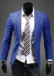 Boys Casual Dress Clothes Stylish Men Jackets Boys Male Coat Casual One Button Slim Fit