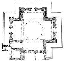 Church Octagon Floor Plans 3 3 1 2 1 The Greek Cross Type Quadralectic Architecture