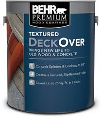 behr deckover roll on coatings for smooth and textured surfaces behr