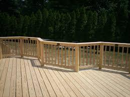 pressure treated wood deck railing visit more deck railing ideas