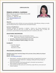 Resume Samples For Teenage Jobs by Resume Samples For Summer Jobs For College Students Templates