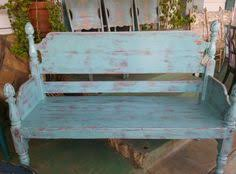Country Style Headboards by Bench Made From A Headboard And Footboard Headboard And