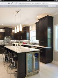kitchen island with wine cooler kitchen pinterest wine