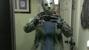 jason voorhees costume i it late but so far the best costume i done