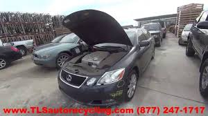 used lexus gs300 parts parting out 2006 lexus gs 300 stock 6038or tls auto recycling